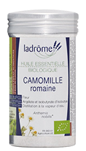 Ladrome huile essentielle bio Camomille romaine